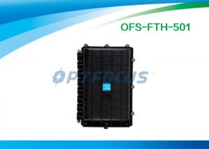 China Optical Fiber Splicing Aerial Splice Enclosure 6 port Horizontally  24 cores on sale
