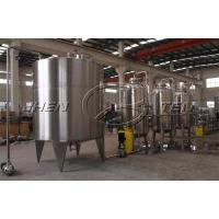 China Safety Operate Pressure SS316L Stainless Steel  Storage Tank Surface Polished on sale