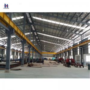 China steel structure construction and prefab welding steel structure workshop on sale
