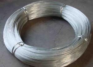 China ISO9001 Certification Galvanized Iron Wire BWG18 BWG20 BWG22 0.7mm - 4.0mm Wire on sale