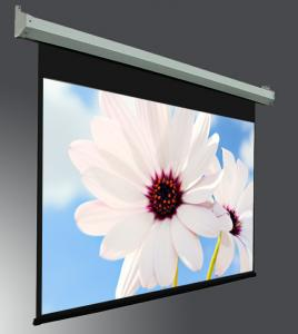 China 400  large Projection Screen , Electric Projection Screens with Tubular Motor Metal Housing on sale