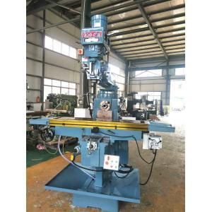 Precision Meehanite Universal Turret Milling Machine Taiwan head Vertical