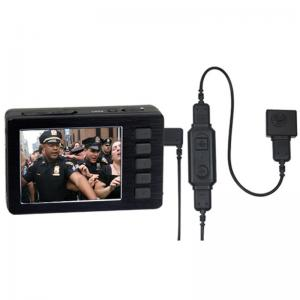 China Full HD Police Button Camera with 2.7inch TFT Screen Motion Detection Low Lux Bodyworn DVR on sale