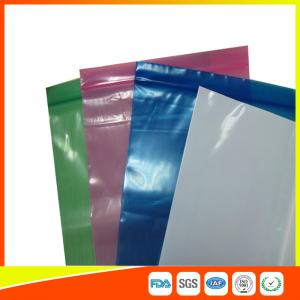China Clear Reclosable Industrial Ziplock Bags ,  Zip Seal Electronic Accessories Packaging Bag on sale