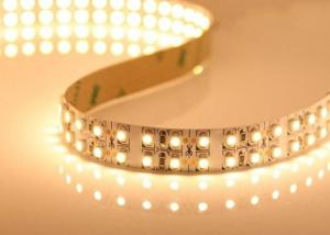 China Flexible 3528 LED Ribbon Light Strips , Double Row 240leds/meter LED Strip on sale