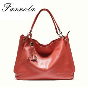 China hot sale famous brand fashion executive large genuine leather bags from india on sale