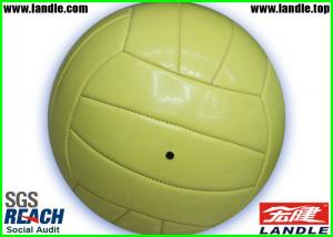 China Classic Design Outdoor Beach Volleyball Ball with Soft Synthetic Leather on sale