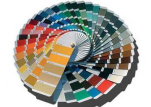 China Color Guiding Ral Color Swatches , Ral Colour Chart For Packaging / Printing Industry on sale