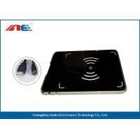 China RFID USB Reader Writer , HF OEM RFID Reader Integrated With Antenna on sale