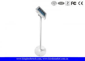 China Rugged Vandal Proof floor tablet stand with Secure Key Locking for Displaying on sale
