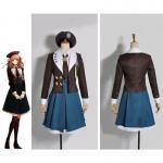 Free Shipping Cosplay Costume Amnesia Animal Costumes Adult's Short Dress Heroine Game Dress School Uniform Halloween