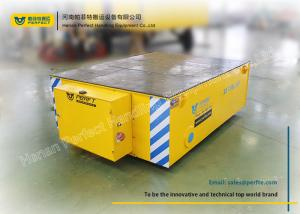 China 20t Mine Battery Transfer Cart / Custom Material Handling Carts Easy Remote Control on sale