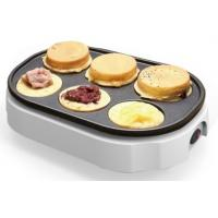 China 6 Holes Electric Snack Maker Auto Temperature Control For Muffin, wheel cake Maker on sale