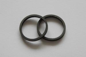 China Self lubrication PTFE flat seal ring with high temperature resistance on sale