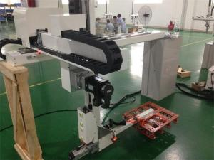 China Rapid Precision Performance Industrial Robotic Arm For Medical Tubes Flasks Picking Out on sale