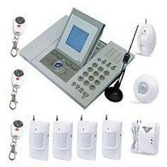China FWT 900Mhz / 1800Mhz / 1900Mhz Remote Wireless Telephone Home Security GSM Alarm System on sale