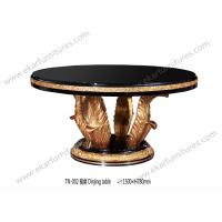 China Dining table set round dining table wood dining table on sale