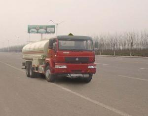 China 6X4 LHD Euro 2 290 HP 16-20 CBM Chemical Tanker Truck For Gas / Oil on sale