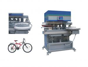 China automatic rototex screen printing machine 8 station 6 color on sale