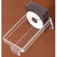 China Acrylic CD Rack with transparent back-panel on sale