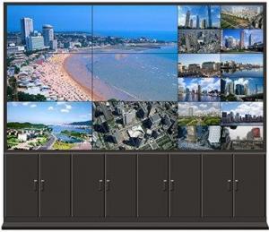 China HIZO los pixeles de la pulgada 1920 x 1080 de las paredes 46 del vídeo de TFT LCD, pantalla de visualización del LCD on sale