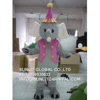 Elephant mascot costume , elephant costume for kid and adult