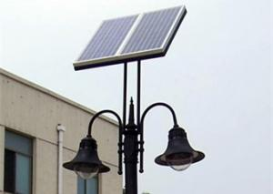 China All In One Outdoor Solar Post Lights , Dustproof Solar Powered Lamp Post Lights on sale