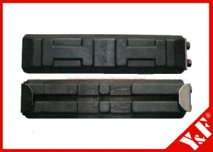 China Rubber Track shoes Excavator Undercarriage Parts 450mm Excavator Components on sale