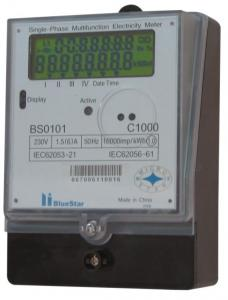 China Single phase energy meter on sale