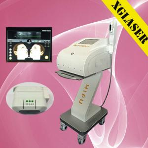 China Skin tightening hifu for wrinkle removal system / skin tightening machine on sale