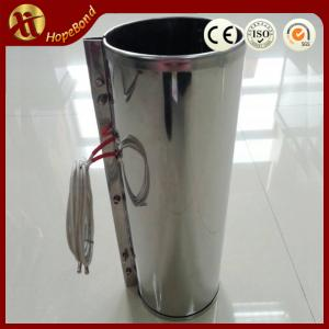 China 120V, 380W, 114x352mm mica band heating elements on sale
