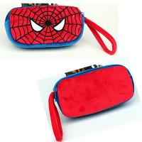 China Cute Spider man Cartoon Characters Plush Pencil Case For Promotion Gifts on sale