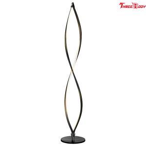 China Twist Modern LED Floor Lamp , Custom Bedroom / Living Room Floor Lamps on sale
