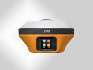 China Dual Battery RTK GNSS Receiver Yellow Color For Measuring 16GB Data Storage on sale