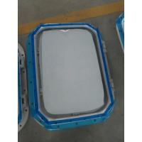 China Marine Bolted Type Installation Aluminum Wheel House Marine Windows For Ships on sale