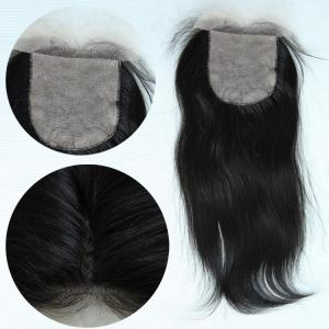 China Factory Sale Grade 6A Cheap price hand made Silk Base Lace Closure on sale