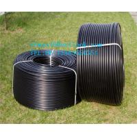 China Double wall corrugated PE pipe for drain water on sale