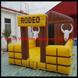 China Best design cheap inflatable mechanical rodeo bull with gravity sensor on sale