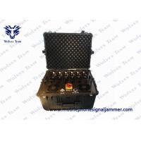China Multi - Band Vehicle Bomb Signal Jammer 20-3600MHz Machine Monitor Software Function on sale
