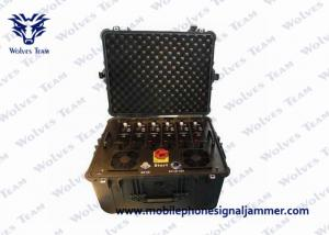 China Multi - Band Vehicle Bomb Signal Jammer 20-3600MHz Machine Monitor Software Function supplier