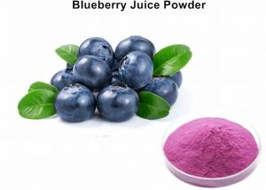 China Natural Blueberry Juice Powder For Drinks, Organic Wild Blueberry Powder on sale