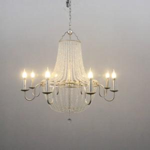 China Rustic iron chandelier with crystals for home Lighting Fixtures (WH-CI-88) on sale