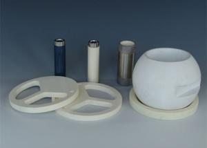 China Blue Zirconium Oxide Y-TZP Ceramic Tube for Medical Care  or Health Care on sale
