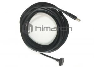 China 5 Meters USB3 A to Micro B Down Angeled Cable with Screws for Industrial Camera on sale