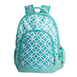 China Green Kids School Book Bags / Laptop School Bags For High School Students on sale