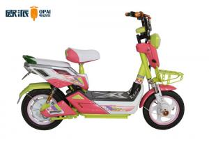 China High-School Student and Girl Choice White Hub Electric Moped Scooter 50 km Range Distance on sale
