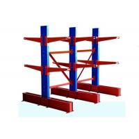 2-7 Layer Double Sided Cantilever Rack , Steel Material Warehouse Storage Pallet Racking