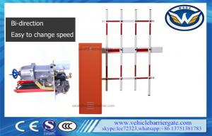 China Anti Collision Traffic Barrier Gate Fence Arm Boom Barriers Manual Release Function on sale