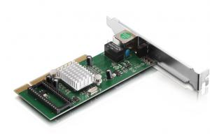 China Windows XP Gigabit Ethernet PCI Adapter IEEE 802.3u 100Base-TX on sale