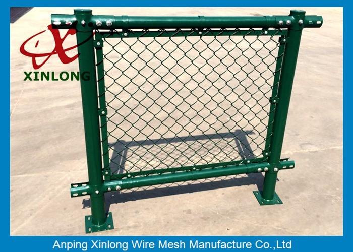 Decorative School Playground Galvanized Chain Link Wire Fence ...